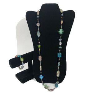 Premier Designs Lot Necklace Bracelet Set